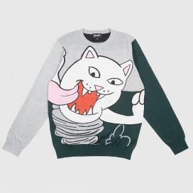 Свитер RIPNDIP Nermanian Devil Sweater Heather/Green