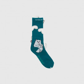 Носки RIPNDIP Lord Nermal Socks Aqua