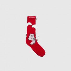 Носки RIPNDIP Lord Nermal Socks Red