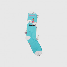 Носки RIPNDIP Beaches Socks Aqua