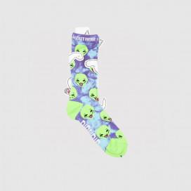 Носки RIPNDIP We Out Here Socks Purple Tie Dye