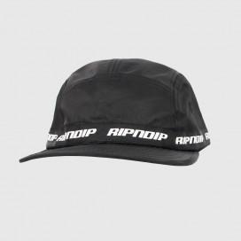 Кепка RIPNDIP Taped Nylon Camper Black