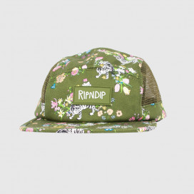 Кепка RIPNDIP Blooming Nerm Cotton Twill Camper Olive Green