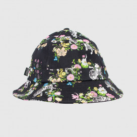 Панамка RIPNDIP Blooming Nerm Cotton Twill Bucket Black