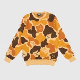 Свитер RIPNDIP Nerm Camo Knitted Sweater Desert Camo