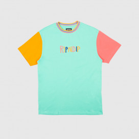 Футболка RIPNDIP Color Block Multi Panel Tee Multi