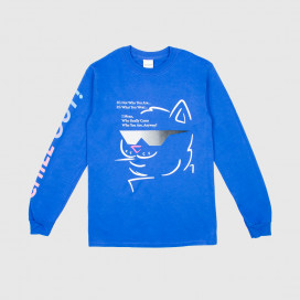 Лонгслив RIPNDIP Chill Out L/S Royal Blue