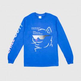 Лонгслив RIPNDIP Chill Out L/S Royal Blue