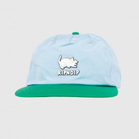 Кепка RIPNDIP Two Nerms Poly 5 Panel Rope Hat Blue/Green