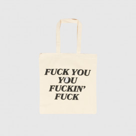 Сумка RIPNDIP Fucking Fuck Tote Bag Natural