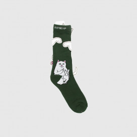 Носки RIPNDIP Lord Nermal Socks Hunter Green