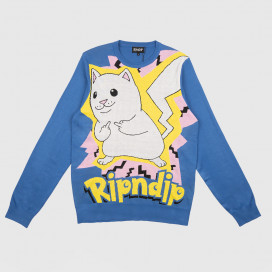 Свитер RIPNDIP Catch Em All Sweater Blue