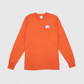 Лонгслив RIPNDIP Lord Nermal LS Texas Orange