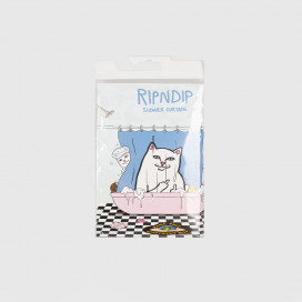 Штора для ванны RIPNDIP Lord Nermal Shower Curtain Blue