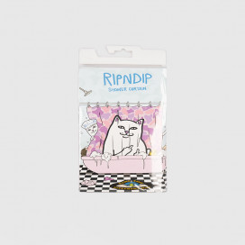 Штора для ванны RIPNDIP Lord Nermal Shower Curtain Pink Camo