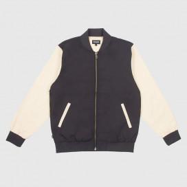 Куртка RIPNDIP Bouquet Varsity Jacket Black / Tan
