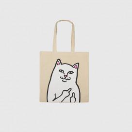 Сумка RIPNDIP Lord Nermal Tote Bag Natural Canvas