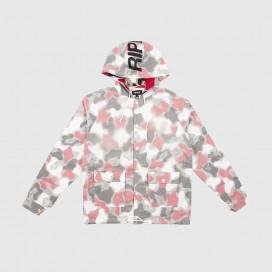 Куртка RIPNDIP Nerm Psycho Clear Rain Coat Red Camo
