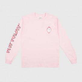 Лонгслив RIPNDIP Found It LS Light Pink