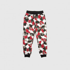 Штаны RIPNDIP Nermcamo Sweatpants Red Camo