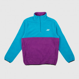 Толстовка RIPNDIP Castanza Fleece Half Zip Jacket Baby Blue / Lavender
