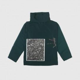 Куртка Ruh.institute x Krasivity Green