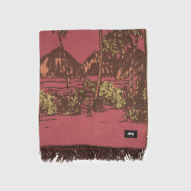 Покрывало Stussy Double Faced Palm Tree Blanket
