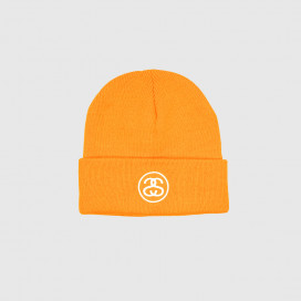 Шапка Stussy FA19 SS-Link Cuff Beanie Athletic Orange