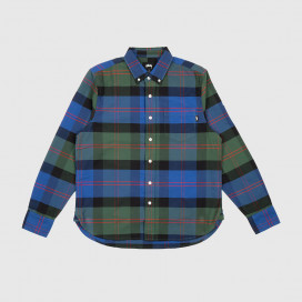 Рубашка Stussy Classic Oxford LS Shirt Green Plaid