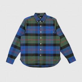 Рубашка Stussy Classic Oxford LS Shirt Green Plaid