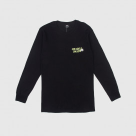 Лонгслив Stussy One World LS Black