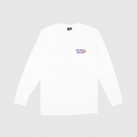 Лонгслив Stussy One World LS White