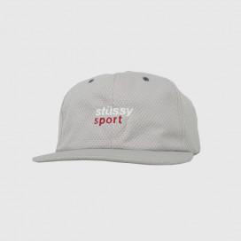 Кепка Stussy Sport Jersey Cap Grey Stussy
