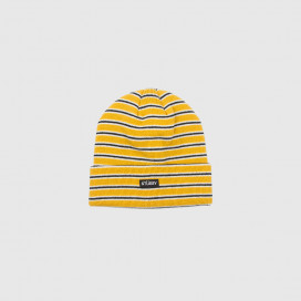 Шапка Stussy Striped FA18 Yellow