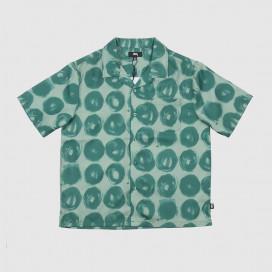 Рубашка Stussy Hand Drawn Dot Shirt Green