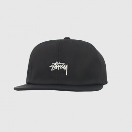 Кепка Stussy STOCK POLY COTTON CAP Black