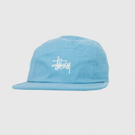 Кепка Stussy STOCK HERRINGBONE CAMP CAP Blue