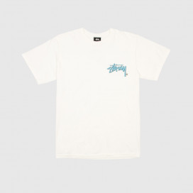 Футболка Stussy Stock C. Pig. Dyed Tee Natural