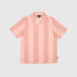 Рубашка Stussy Bold Stripe Shirt Peach