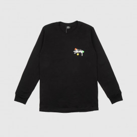 Лонгслив Stussy Dot Collage LS Tee Black