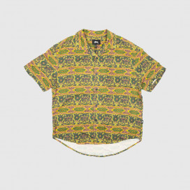 Рубашка Stussy Baroque Shirt Olive
