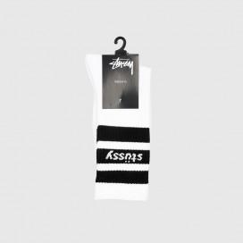 Носки Stussy Sport Crew Socks White/Black
