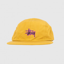 Кепка Stussy Basic Stock Bungee Camp Cap Mustard