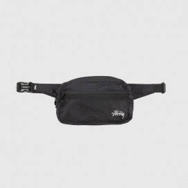 Сумка на пояс Stussy Light Weight Waist Bag Black