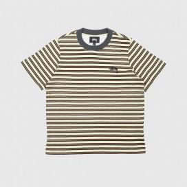 Футболка Женская Stussy Printed Stripe Tee W Green