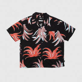 Рубашка Stussy Cactus Rayon Shirt Black