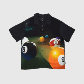 Рубашка Stussy Pool Hall Shirt Black