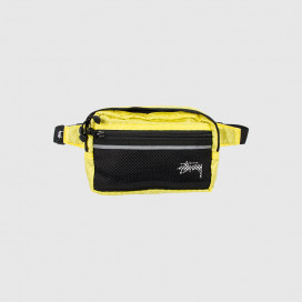 Сумка на пояс Stussy DIAMOND RIPSTOP WAIST BAG Lime