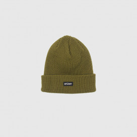 Шапка Stussy SMALL PATCH WATCHCAP BEA Green