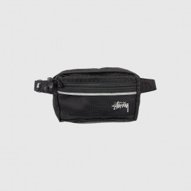 Сумка на пояс Stussy DIAMOND RIPSTOP WAIST BAG Black